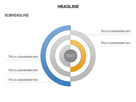 Semicircle Diagram, Slide 16, 03415, Stage Diagrams — PoweredTemplate.com