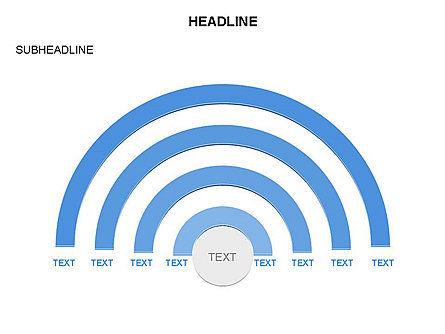 Semicircle Diagram, Slide 19, 03415, Stage Diagrams — PoweredTemplate.com