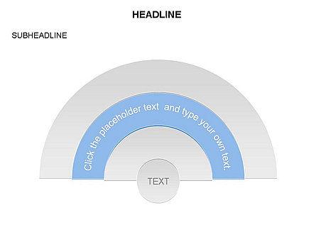 Semicircle Diagram, Slide 2, 03415, Stage Diagrams — PoweredTemplate.com