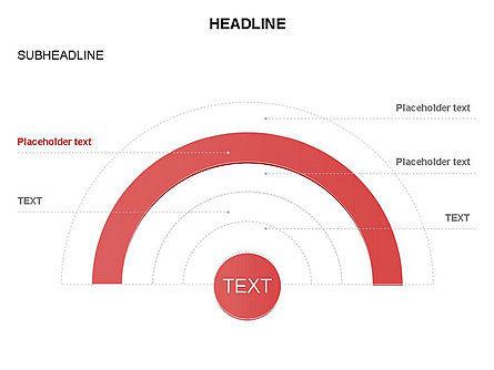 Semicircle Diagram, Slide 22, 03415, Stage Diagrams — PoweredTemplate.com