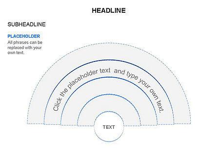 Semicircle Diagram, Slide 23, 03415, Stage Diagrams — PoweredTemplate.com