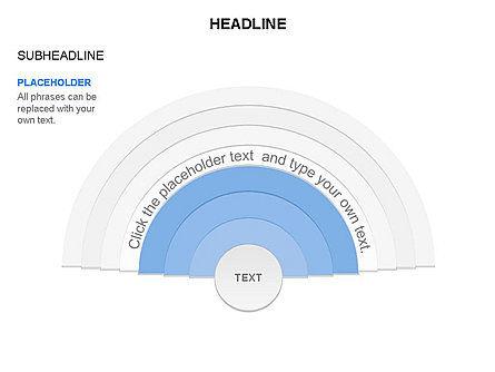 Semicircle Diagram, Slide 24, 03415, Stage Diagrams — PoweredTemplate.com