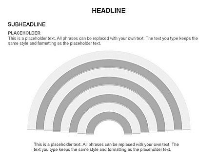Semicircle Diagram, Slide 28, 03415, Stage Diagrams — PoweredTemplate.com