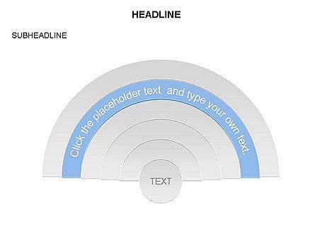 Semicircle Diagram, Slide 4, 03415, Stage Diagrams — PoweredTemplate.com