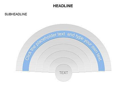 Semicircle Diagram, Slide 5, 03415, Stage Diagrams — PoweredTemplate.com