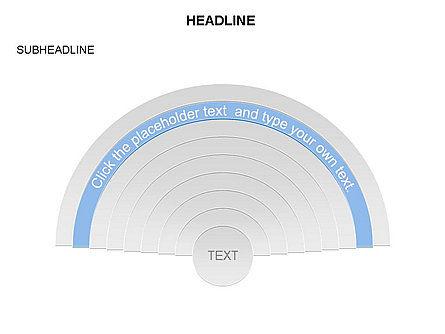 Semicircle Diagram, Slide 7, 03415, Stage Diagrams — PoweredTemplate.com
