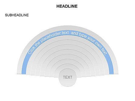 Semicircle Diagram, Slide 8, 03415, Stage Diagrams — PoweredTemplate.com