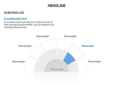 Staged Semicircle with Sectors, Slide 6, 03417, Stage Diagrams — PoweredTemplate.com