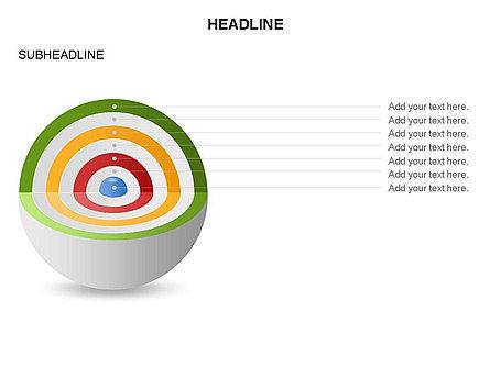 Cutaway Core Sphere Diagram, Slide 21, 03418, Stage Diagrams — PoweredTemplate.com
