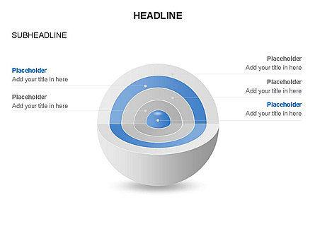 Cutaway Core Sphere Diagram, Slide 4, 03418, Stage Diagrams — PoweredTemplate.com