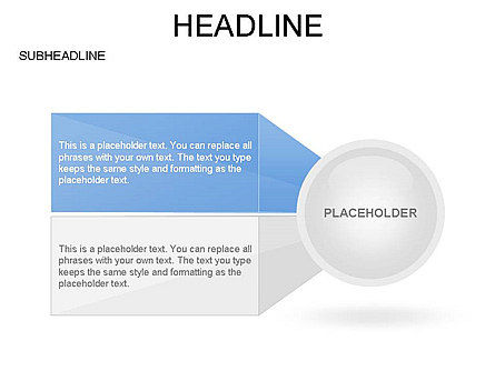 Circle with Options, Slide 17, 03420, Stage Diagrams — PoweredTemplate.com