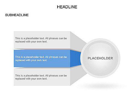 Circle with Options, Slide 2, 03420, Stage Diagrams — PoweredTemplate.com