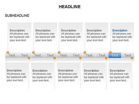 Timelines Toolbox, Slide 10, 03423, Timelines & Calendars — PoweredTemplate.com