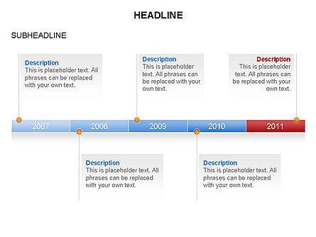 Timelines Toolbox, Slide 11, 03423, Timelines & Calendars — PoweredTemplate.com