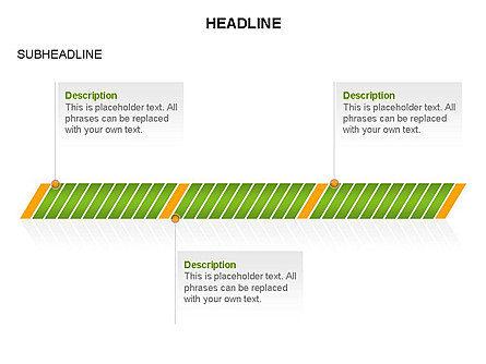 Timelines Toolbox, Slide 12, 03423, Timelines & Calendars — PoweredTemplate.com