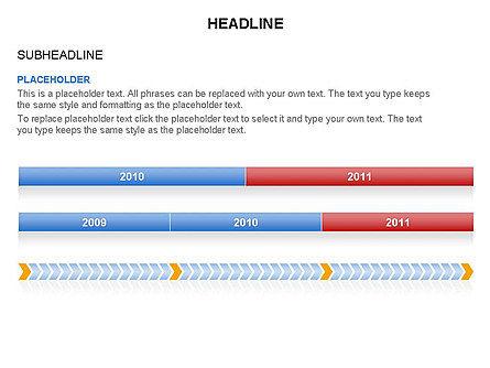 Timelines Toolbox, Slide 19, 03423, Timelines & Calendars — PoweredTemplate.com