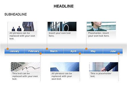 Timelines Toolbox, Slide 20, 03423, Timelines & Calendars — PoweredTemplate.com