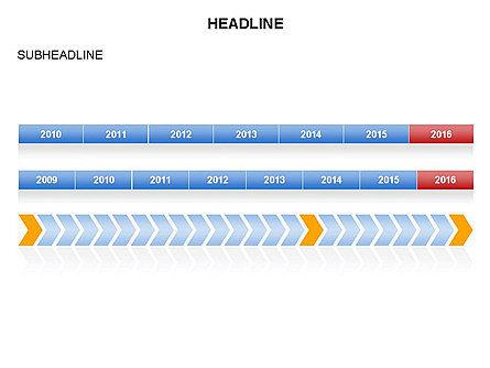 Timelines Toolbox, Slide 21, 03423, Timelines & Calendars — PoweredTemplate.com
