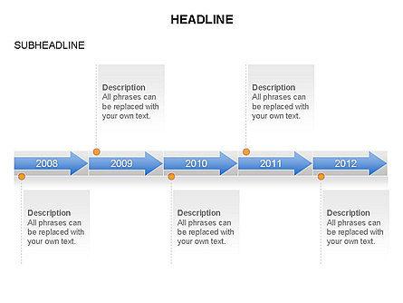 Timelines Toolbox, Slide 23, 03423, Timelines & Calendars — PoweredTemplate.com