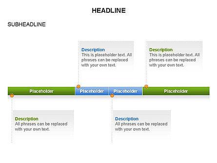 Timelines Toolbox, Slide 24, 03423, Timelines & Calendars — PoweredTemplate.com