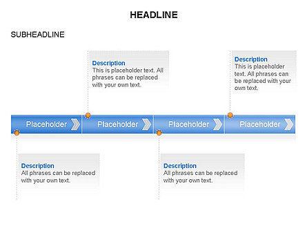Timelines Toolbox, Slide 25, 03423, Timelines & Calendars — PoweredTemplate.com