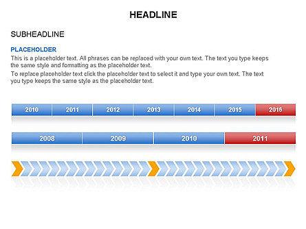Timelines Toolbox, Slide 31, 03423, Timelines & Calendars — PoweredTemplate.com
