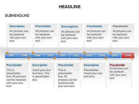 Timelines Toolbox, Slide 36, 03423, Timelines & Calendars — PoweredTemplate.com