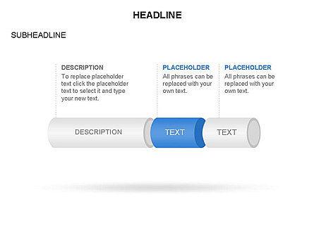 Hollow Cylinder Timeline Toolbox, Slide 11, 03424, Timelines & Calendars — PoweredTemplate.com