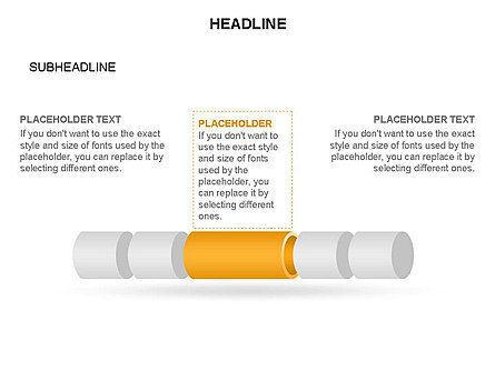 Hollow Cylinder Timeline Toolbox, Slide 12, 03424, Timelines & Calendars — PoweredTemplate.com
