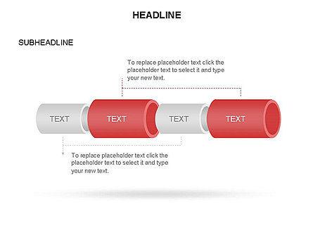 Hollow Cylinder Timeline Toolbox, Slide 19, 03424, Timelines & Calendars — PoweredTemplate.com