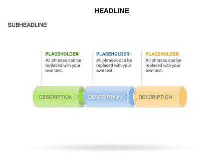 Hollow Cylinder Timeline Toolbox, Slide 22, 03424, Timelines & Calendars — PoweredTemplate.com