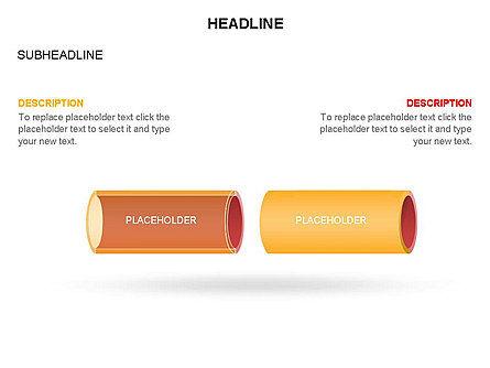 Hollow Cylinder Timeline Toolbox, Slide 25, 03424, Timelines & Calendars — PoweredTemplate.com