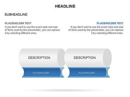 Hollow Cylinder Timeline Toolbox, Slide 28, 03424, Timelines & Calendars — PoweredTemplate.com