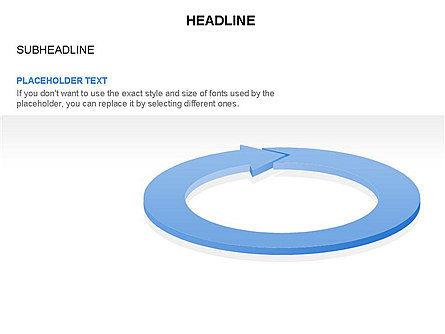Process Diagrams: Diagramme de cercle de flèche #03425