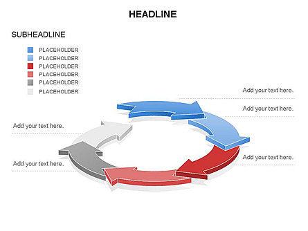 Arrow Circle Diagram, Slide 30, 03425, Process Diagrams — PoweredTemplate.com