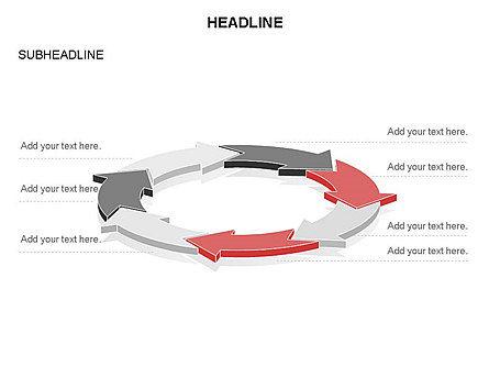Arrow Circle Diagram, Slide 31, 03425, Process Diagrams — PoweredTemplate.com
