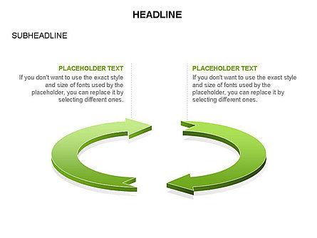 Arrow Circle Diagram, Slide 32, 03425, Process Diagrams — PoweredTemplate.com