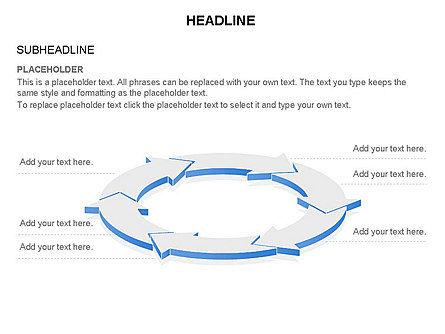 Arrow Circle Diagram, Slide 42, 03425, Process Diagrams — PoweredTemplate.com