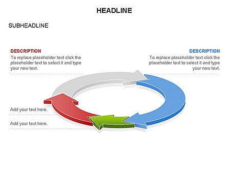 Arrow Circle Diagram, Slide 48, 03425, Process Diagrams — PoweredTemplate.com