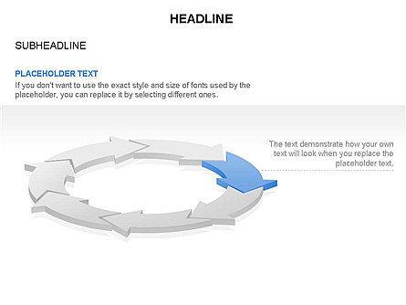 Arrow Circle Diagram, Slide 7, 03425, Process Diagrams — PoweredTemplate.com