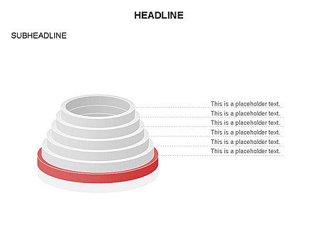 Pyramid of Rings, Slide 11, 03426, Stage Diagrams — PoweredTemplate.com