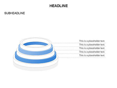 Pyramid of Rings, Slide 18, 03426, Stage Diagrams — PoweredTemplate.com