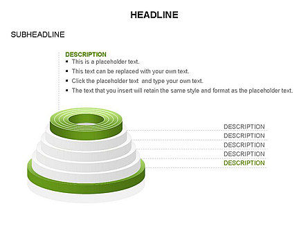 Pyramid of Rings, Slide 21, 03426, Stage Diagrams — PoweredTemplate.com