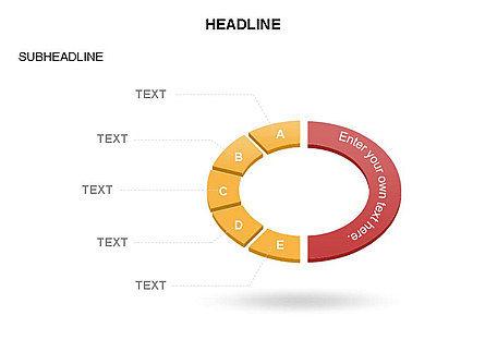 Sector Segment and Donut, Slide 10, 03427, Pie Charts — PoweredTemplate.com