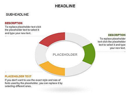 Sector Segment and Donut, Slide 22, 03427, Pie Charts — PoweredTemplate.com