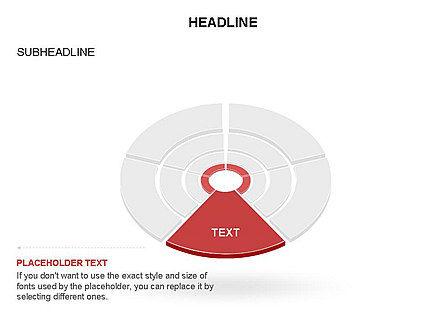 Sector Segment and Donut, Slide 25, 03427, Pie Charts — PoweredTemplate.com