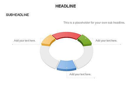 Sector Segment and Donut, Slide 29, 03427, Pie Charts — PoweredTemplate.com