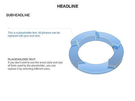 Sector Segment and Donut, Slide 31, 03427, Pie Charts — PoweredTemplate.com