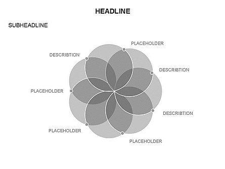 Venn Diagram Toolbox, Slide 12, 03428, Business Models — PoweredTemplate.com