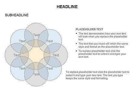 Venn Diagram Toolbox, Slide 21, 03428, Business Models — PoweredTemplate.com